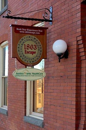 1863 Escape Room Gettysburg Pa 17325 1863 Escape S Sign At