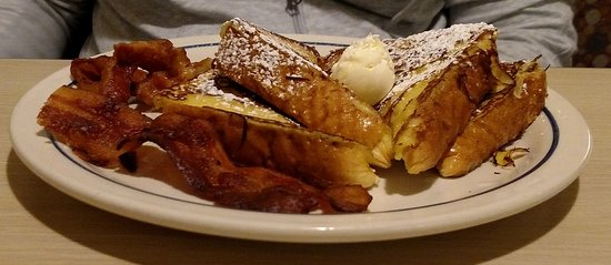 Kannapolis, NC: Toast and bacon - Feb 2017
