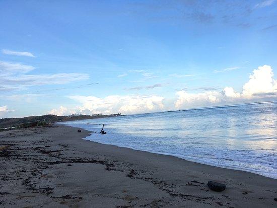 Zorritos, Peru: At the hotel beach