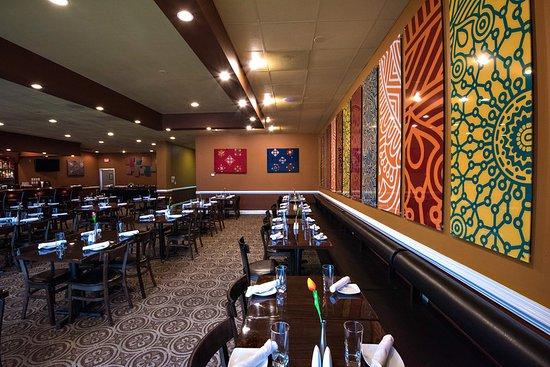 Pleasing Decor Picture Of Rangoli Indian Restaurant
