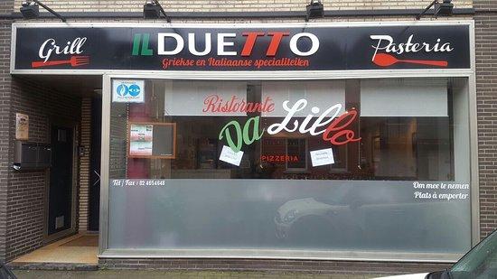 Groot-Bijgaarden, Belgien: Il duetto Da lillo