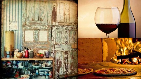 Buninyong, Australie : Wine. Wood fired pizza. Vintage items.