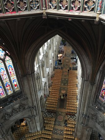 Ely, UK: The view from inside the Latern.