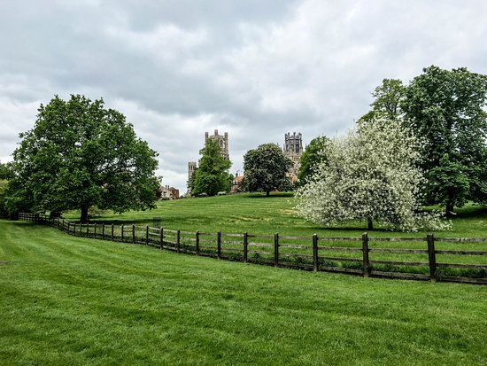 Ely in the Spring.