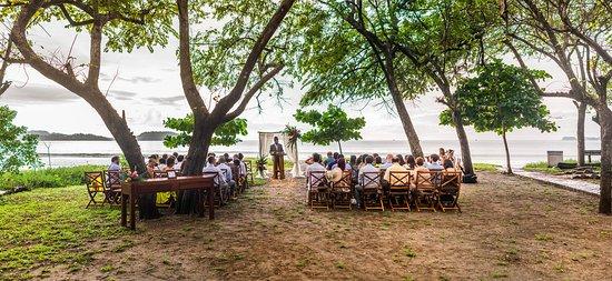 Sugar Beach Hotel Our Wedding Ceremony At