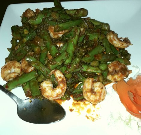 Johnson City, TN: Sambal Asparagus Shrimp