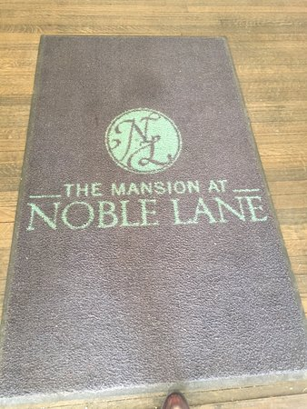 The Mansion at Noble Lane: March 2017 stay