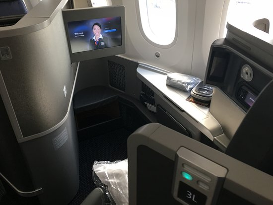 Business Class Seat 3l Front Facing Picture Of American