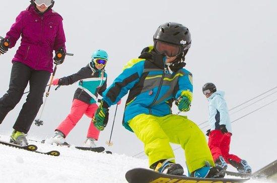 Paquete de alquiler de snowboard...