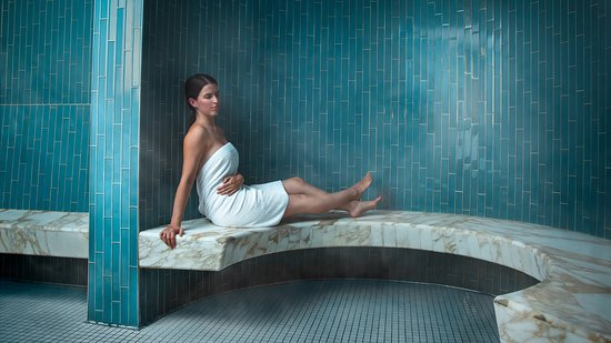 Four Seasons Hotel Seattle: Eucalyptus Steam Room at The Spa