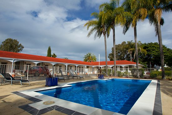 Tuncurry, Australia: Our refreshing swimming pool