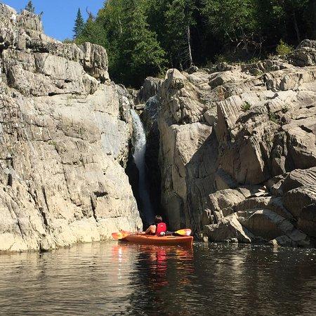 Grand Falls, Canada: tiny waterfall