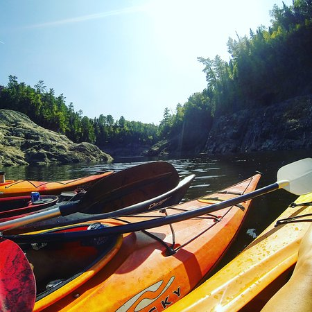 Grand Falls, Canada: kayak
