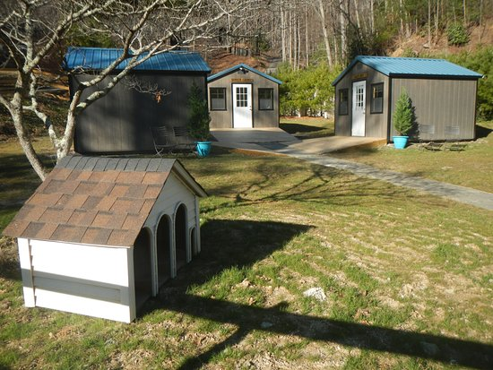 Gerton, NC: Private Dog Cabins