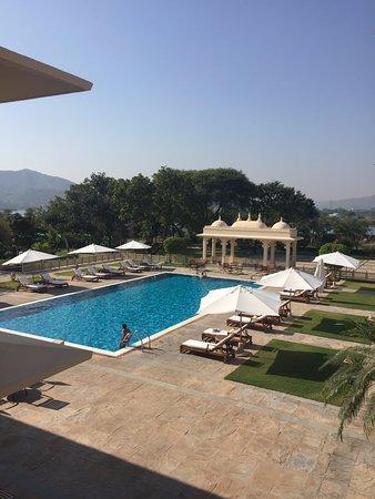 Trident Udaipur: pool 1