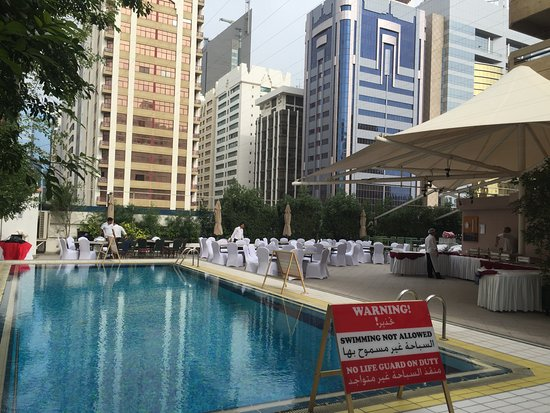 Mercure Abu Dhabi Centre Hotel: Closed for a function