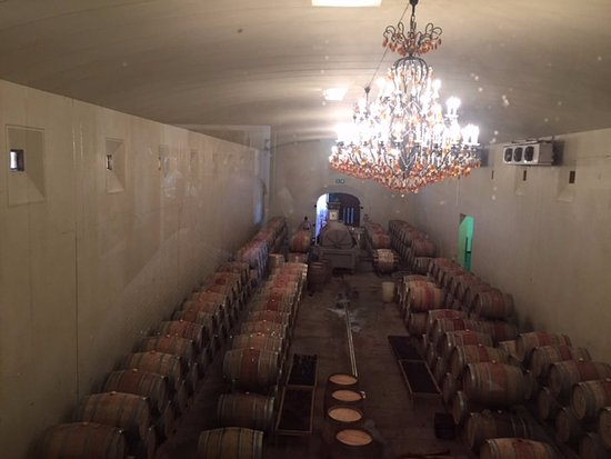Asara Wine Estate & Hotel: Wine cellar, as seen from the tasting room