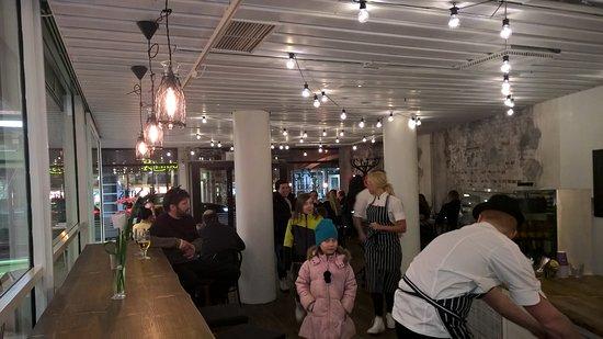 Kokkola, Finlandia: Yleisnäkymä ravintolasta