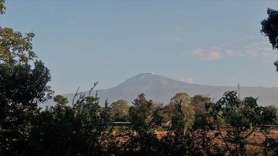 Lutheran Uhuru Hotel Moshi: kilimanjaro