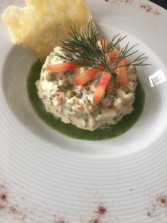 Le Restaurant De La Mascotte : salade