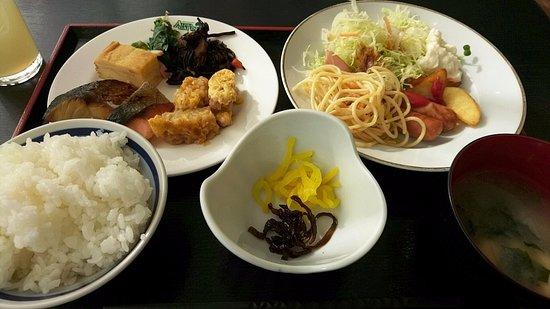 Hotel Alpha-One Mishima: 朝食バイキング
