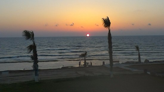 Kefalos Beach Tourist Village: Sunset taken from the balcony