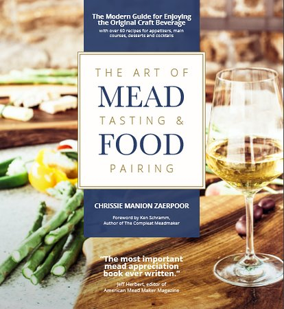 "Yamhill, OR: Farmer Chrissie is also the author of ""The Art of Mead Tasting and Food Pairing"""