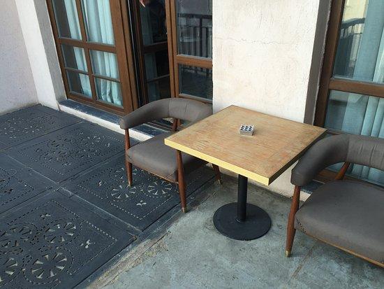 Georges Hotel Galata: Balcony