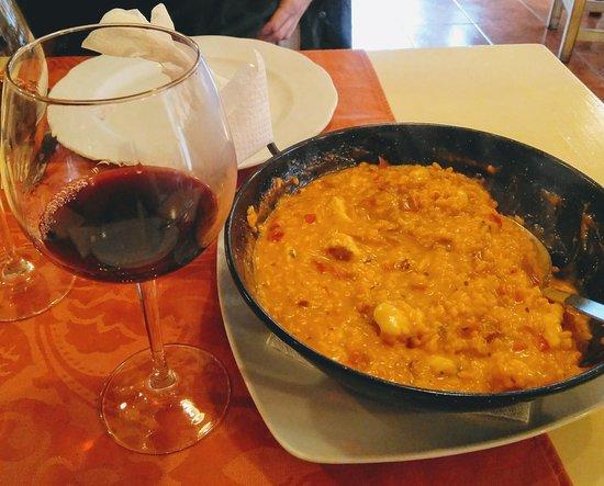 Restaurante Santa Clara : Risotto de rape con jamon