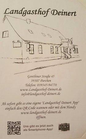 Genthin, Германия: Landgasthof Deinert