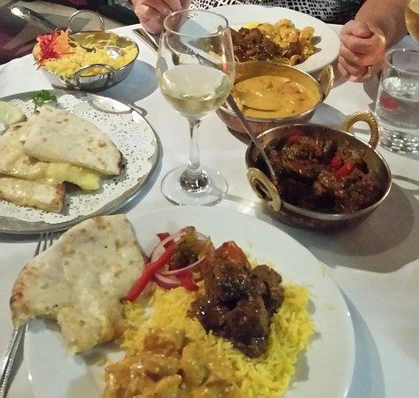 Buddina, Australië: The curry bowl Indian restaurant