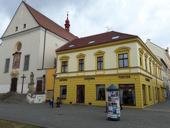 Kyjov, Czech Republic: Po celkové rekonstrukci, v patře penzion.