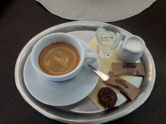Kyjov, Czech Republic: Výborná káva