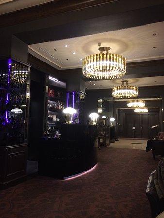 Le Palais Art Hotel Prague: Reception and Bar
