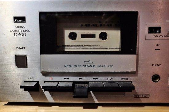 cassette player - Picture of The Coffee Jar 呷珈琲, Melaka