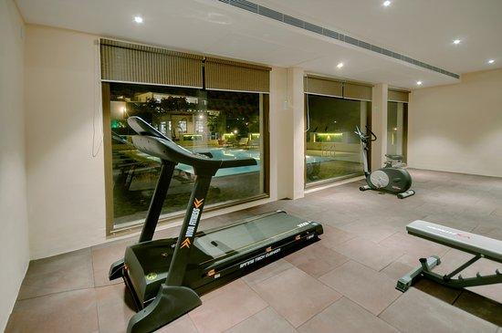 Le Madhulika Maharana Resort & Spa: Fitness Zone