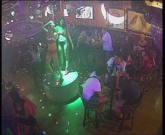 Henry Africa's Bar: Our dancer 1