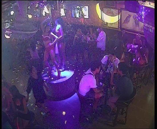 Henry Africa's Bar: Our dancer 2