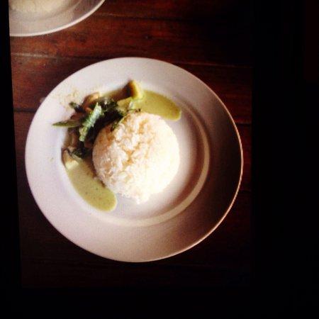 Sri Chiang Yeun House: Very tasty Green Curry!