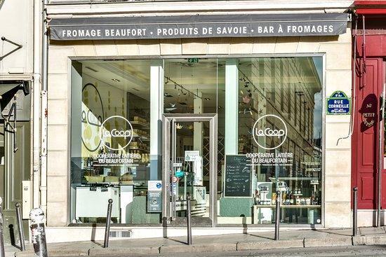 entre le sénat, le théatre de l'odéon et le jardin du luxembourg : La Coop Paris