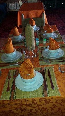 Merzouga Dunes Luxury Camps: Restaurant of Bivouac Merzouga Experience