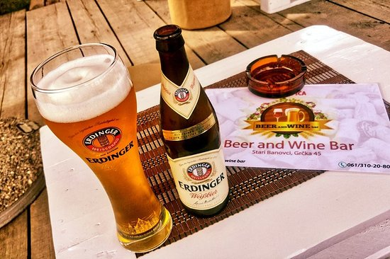 Beer and Wine Bar: Erdinger Waiss