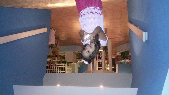 Crown Paradise Club Cancun: En el restaurante fisher man