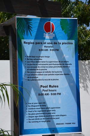 Juanedu Suites: pool rules