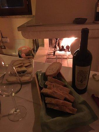 Montemaggiore al Metauro, Italy: cena in camera