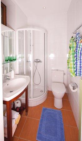 Landgasthof zur Linde: Badezimmer