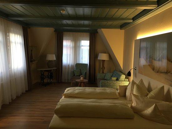 Hotel Seeblick: neu gestaltetes Zimmer