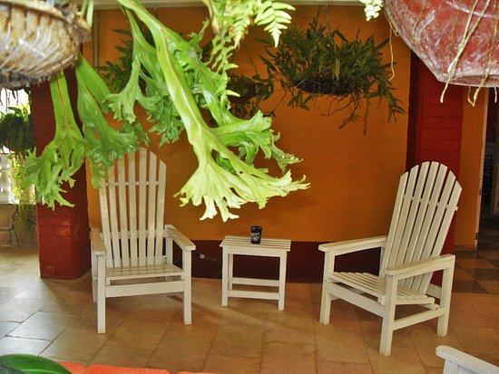Trinidad de Cuba: Terraza de la casa.