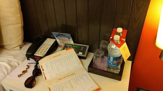 Citrus Hotel Lonavala: 2 bottles complementary water bottle