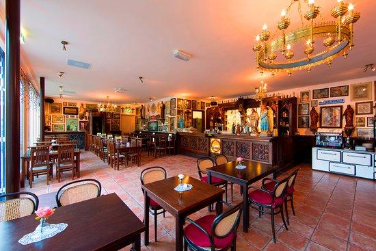 Cafe-restaurant De Zwarte Madonna: Interieur De Zwarte Madonna